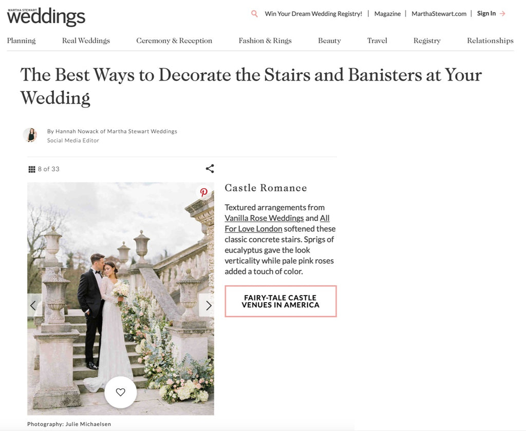 Martha Stewart Weddings 12 April 2019