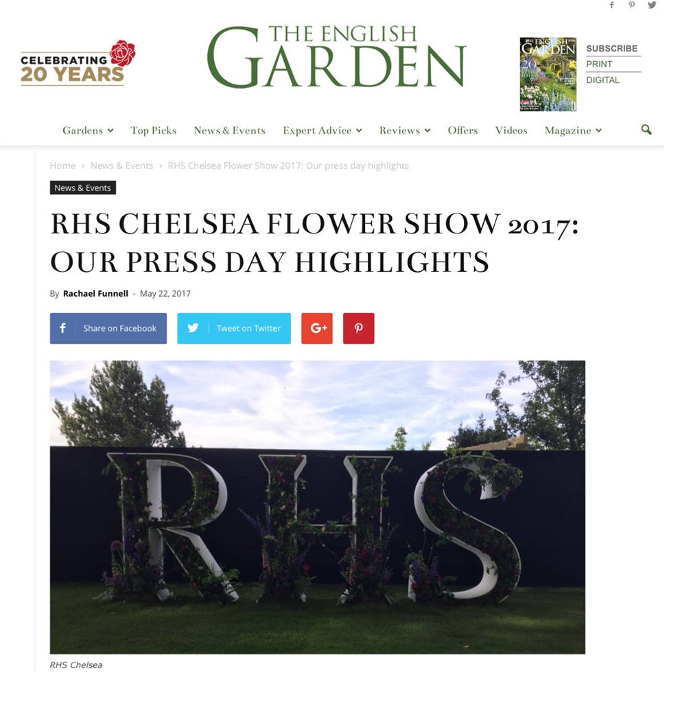 The English Garden Online 22 May 2017