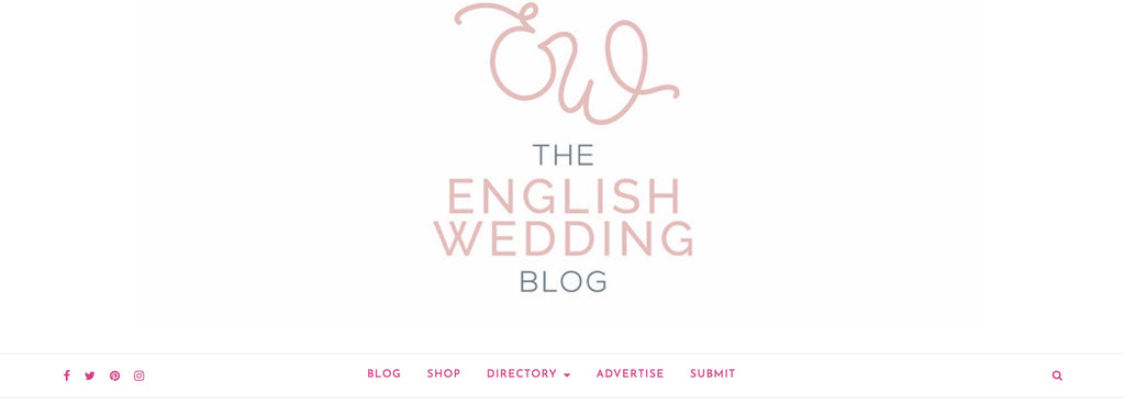 The English Wedding Blog 5 June 2019