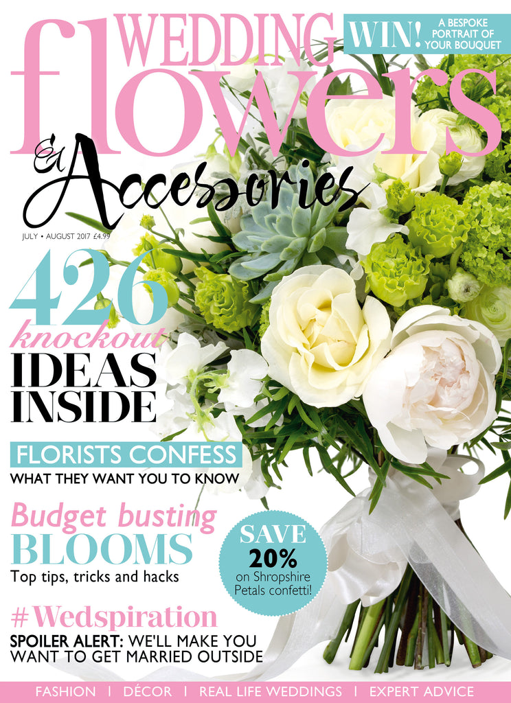 Wedding Flowers & Accessories July August 2017