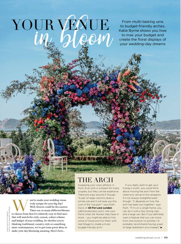 Wedding Venues & Fashion April/May 2019