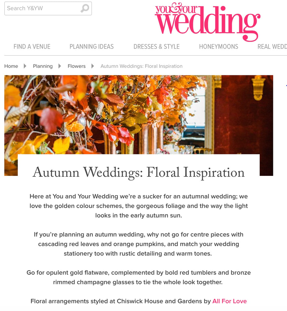 You & Your Wedding Online 26 October 2016