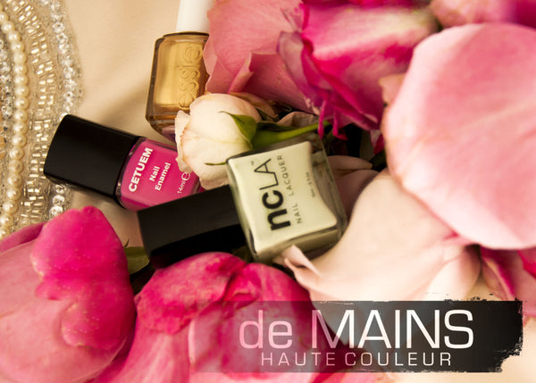De Mains Nails - Spring/ Summer Shoot 2014