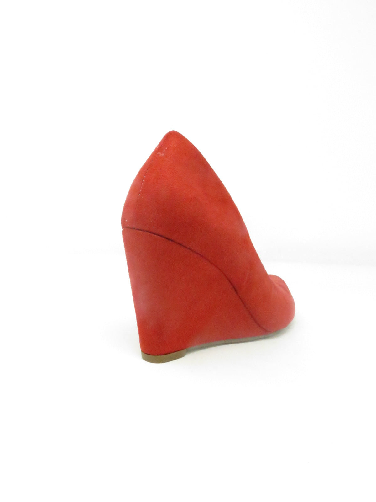 Anabela Suede Red