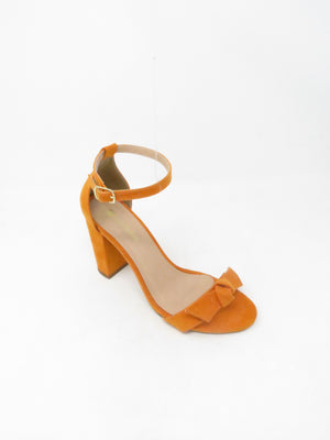 Sandália Suede Orange