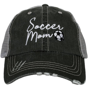Soccer Mom Trucker Hat by Katydid
