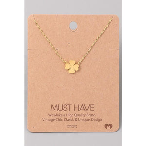 Clover Must Have Necklace