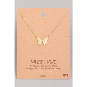 Butterfly Split Wing Must Have Necklace