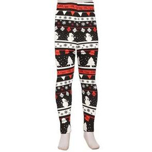 Kids Winter Theme Legging