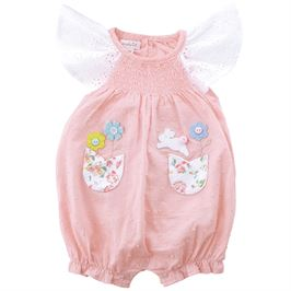 Bunny Smocked Bubble