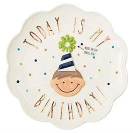 Birthday Candle Plate