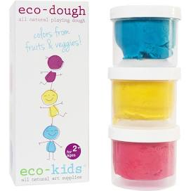 Eco-Dough Playdough 3 pack