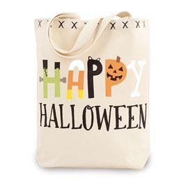 Halloween Canvas Tote Bags