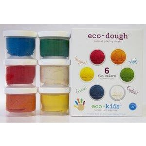 Eco-Dough playdough 6 pack