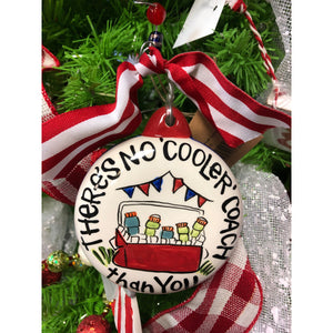 Cooler Coach Ornament