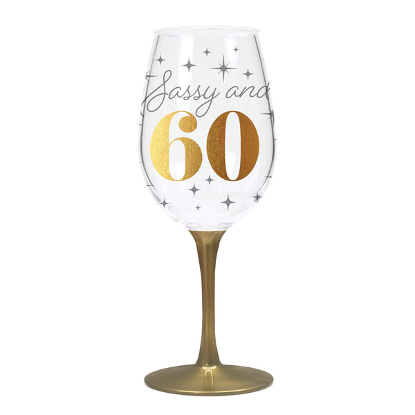 Birthday Acrylic Wine Glasses