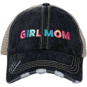 Girl Mom Multicolored Trucker Hat by Katydid