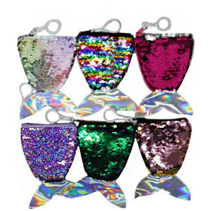 Mermaid Sequin Coin Pouch