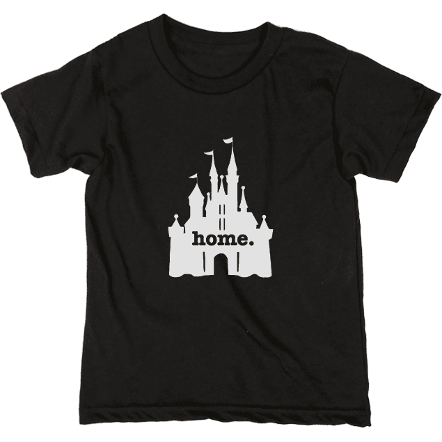 Kids Castle Home tee by The Home T