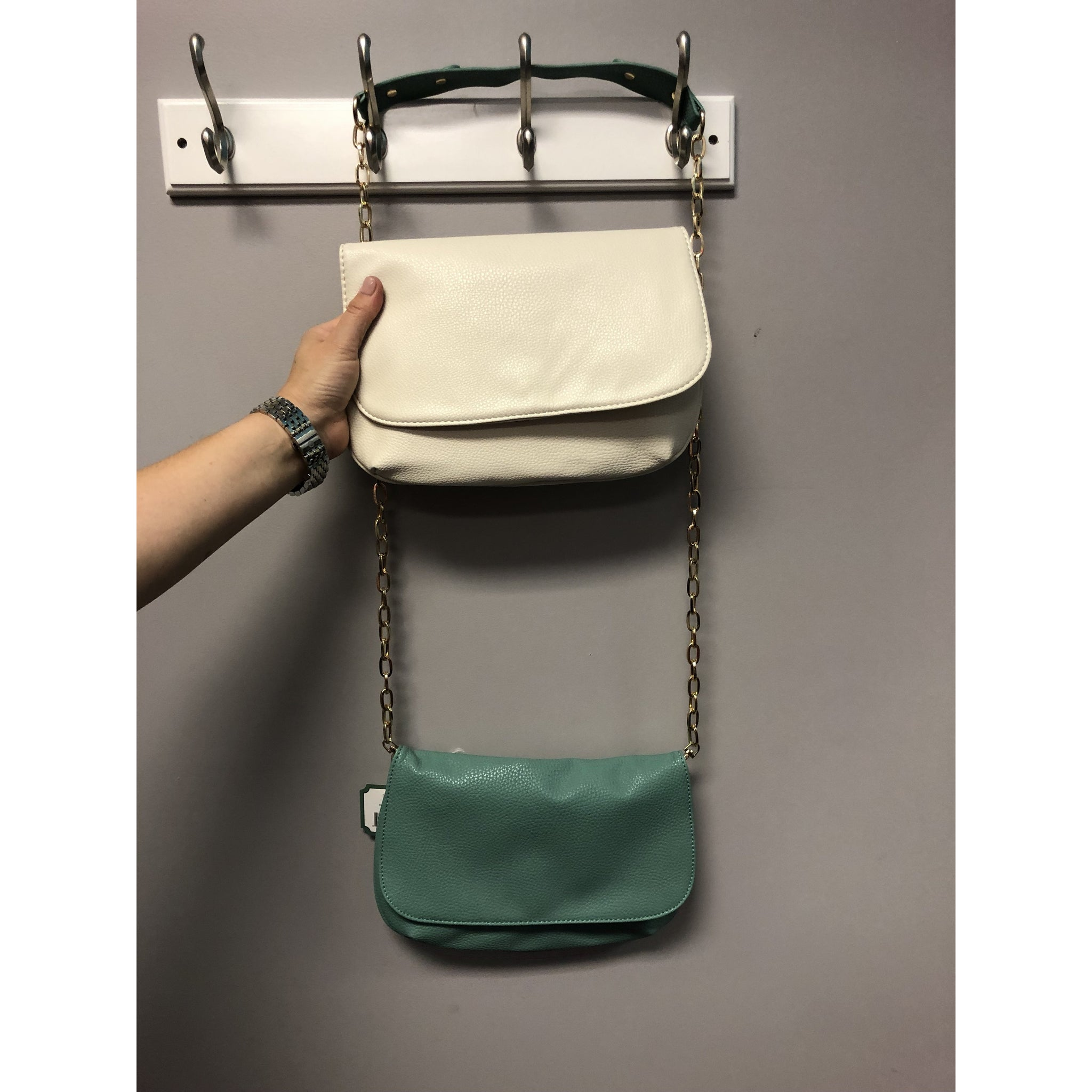 Mary Square Crossbody