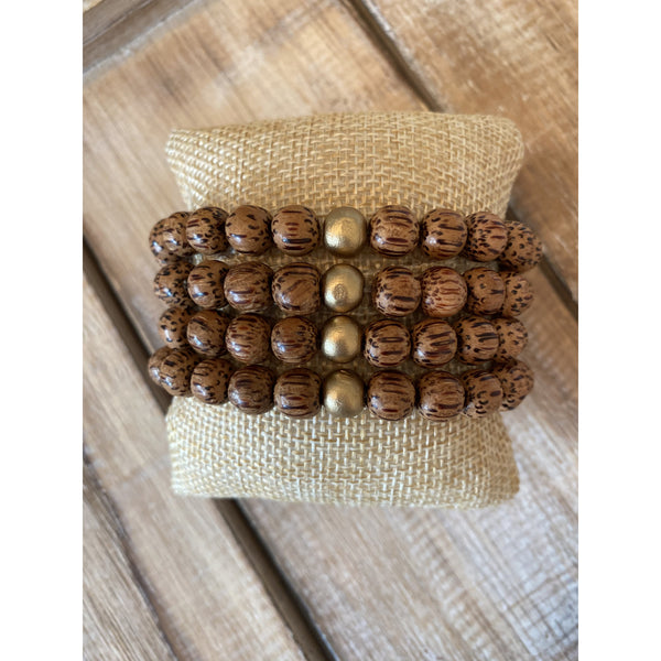 Arm Party Adult Palmwood Bracelet