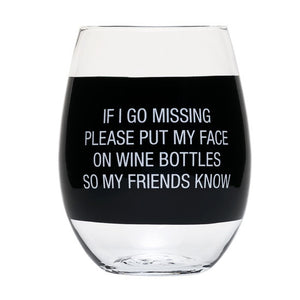 If I go Missing Wine Glass