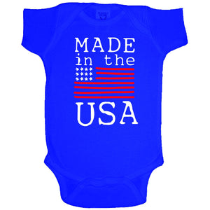 Made in the USA onesie by Jane Marie
