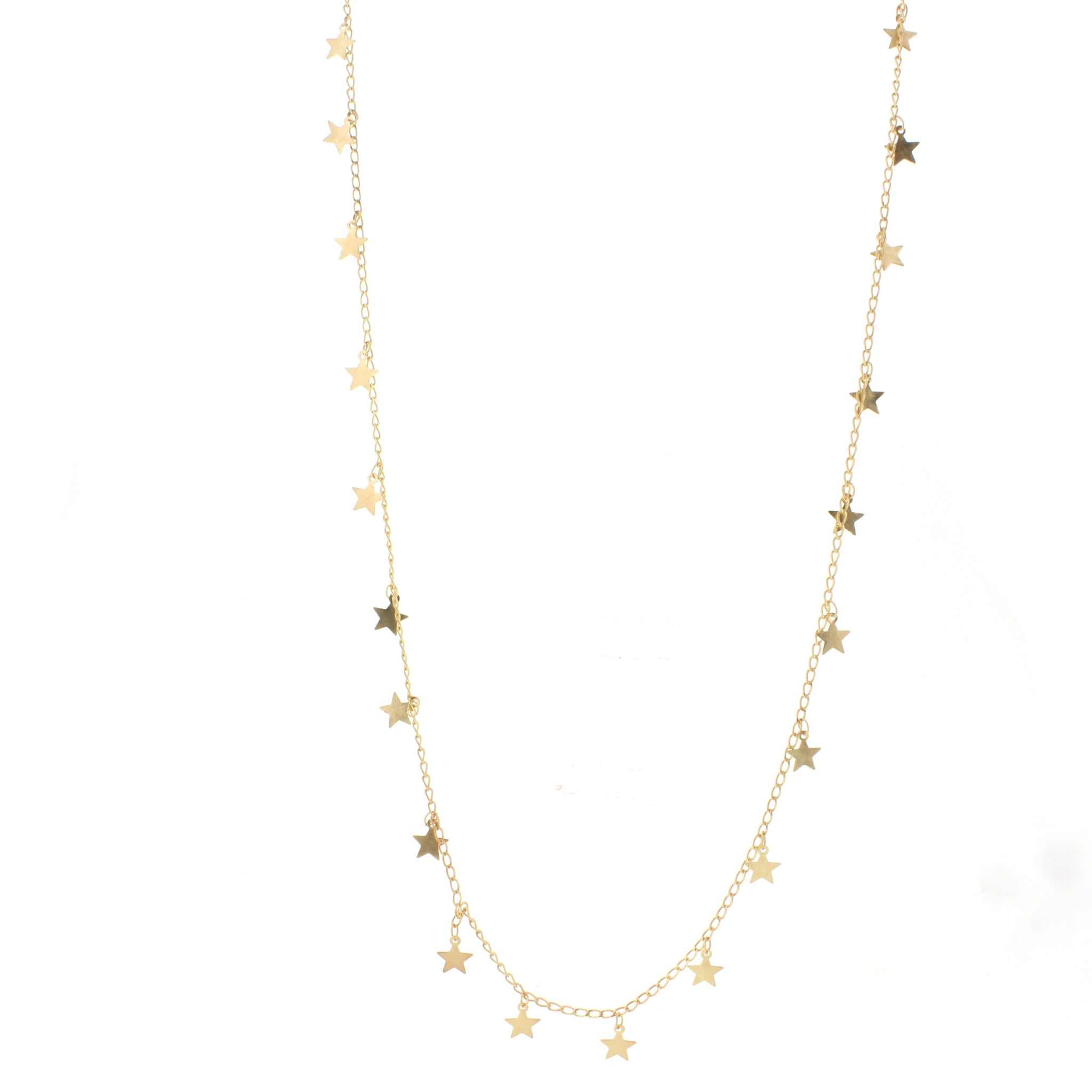 Gold Necklace with Accent