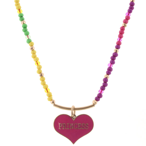 Girls Beaded Necklace