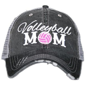 Volleyball Mom Trucker hat by Katydid