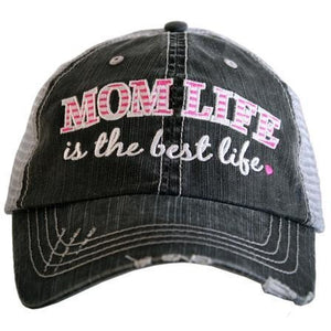 Mom Life is the Best Life Trucker Hat by Katydid