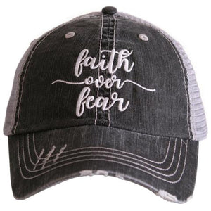 Faith Over Fear Hat By Katydid