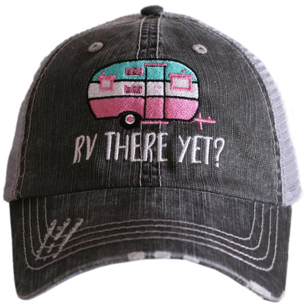 RV There Yet Trucker Hat by Katydid