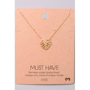 Single Leaf Must Have Necklace