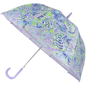 Lilly Pulitzer Clear Umbrella