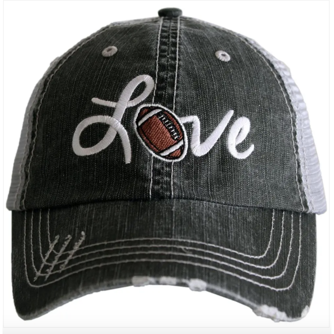 Love Football Trucker Hat