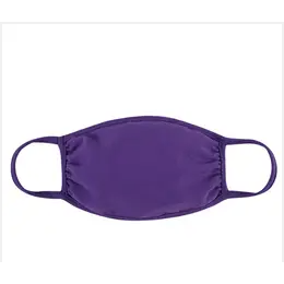 Solid Color Reusable Face Masks for Youth