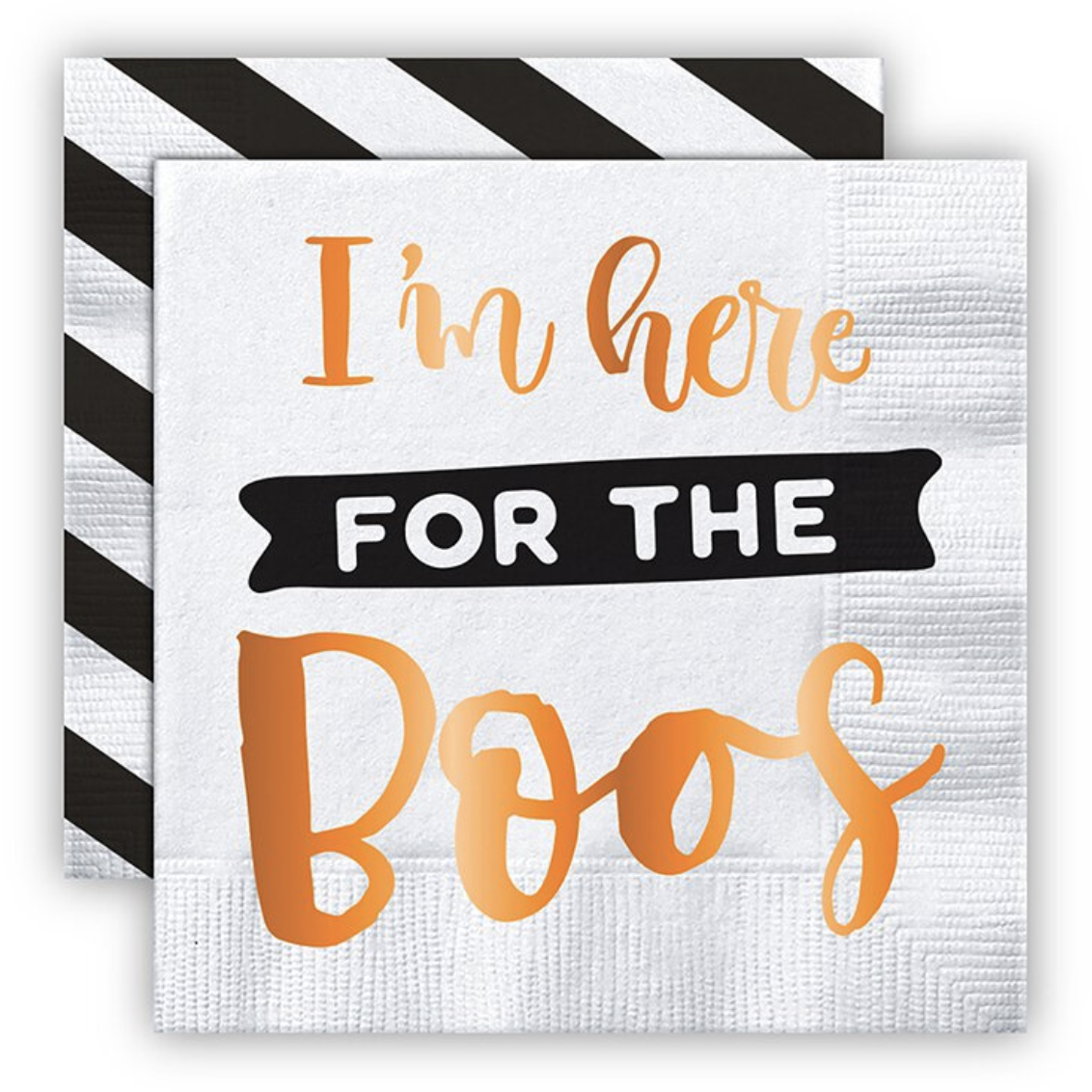 Here for the Boos Napkins