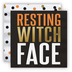 Resting Witch Face Napkins