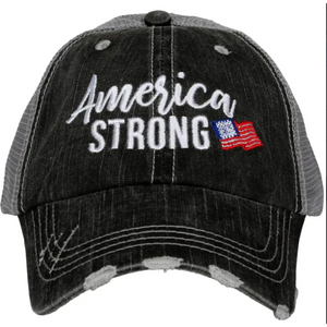 America Strong Hat by Katydid