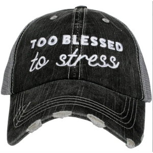 Too Blessed to Stress by Katydid