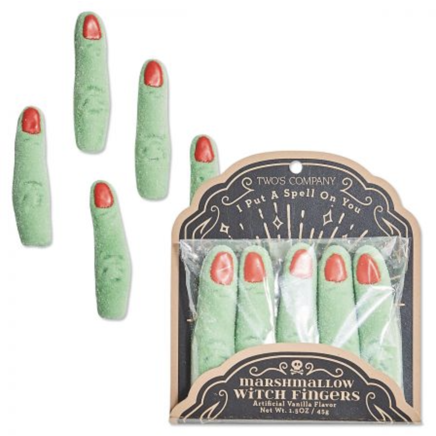 Marshmallow Witch Fingers