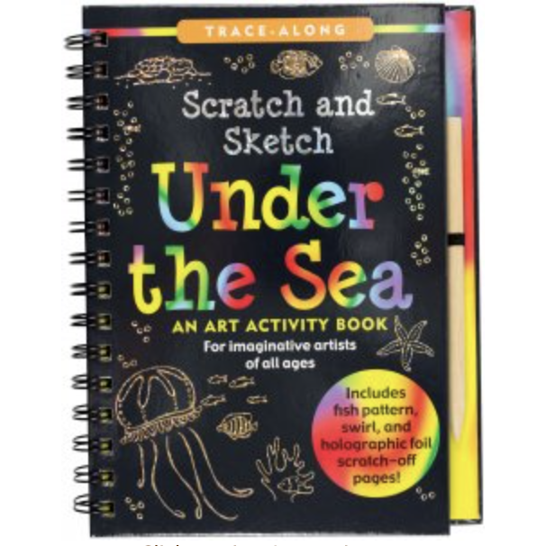 Scratch & Sketch Books