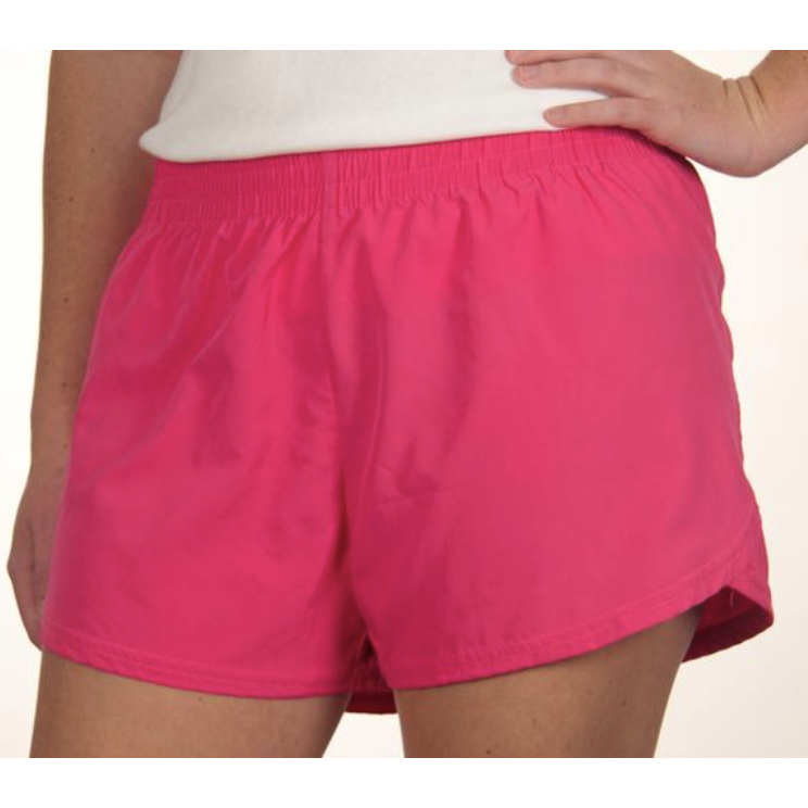 Solid Color Girls Shorts with Personalization