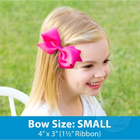 Small Classic Grosgrain Bow by Wee Ones
