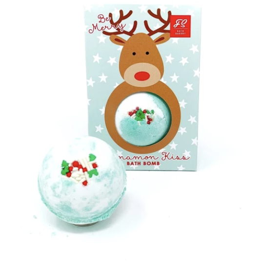 Holiday Bath Bomb by Feeling Smitten