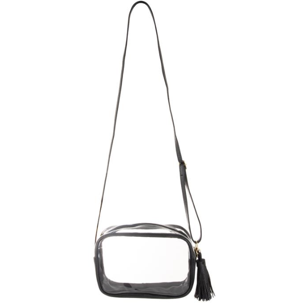 Clear Rectangle Crossbody