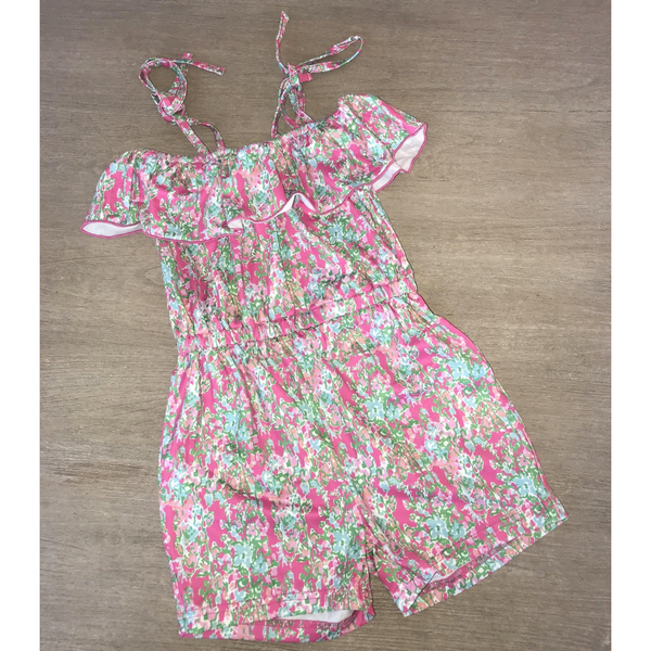 Lillian Flower Romper