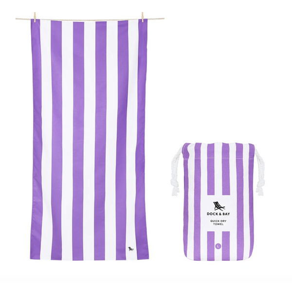 Quick Dry Towels - Striped - Large