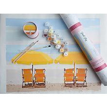 Beach Bliss Paint by Number